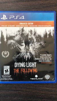 Dying Light The Following ps4  Toronto, M6K