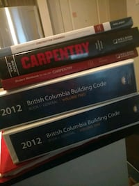 Carpentry level 1 book set  Langley, V3A 3X4