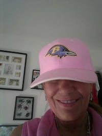 Pink fitted Ravens ball cap Nottingham, 21236