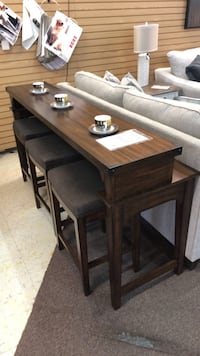 Sofa Table made by Liberty. American made and solid wood Athens, 30606