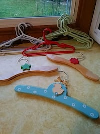 Hangers for child's closet