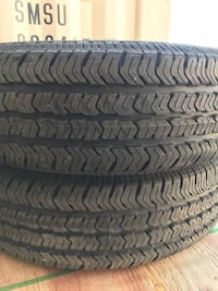 5 P225/75R16 Goodyear Wrangler ST tires. Central Okanagan, V4T 1G9