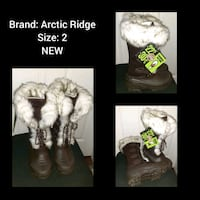Brand new girls boots  Barrie, L4M 4A4