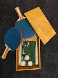 Table Tennis Table Set