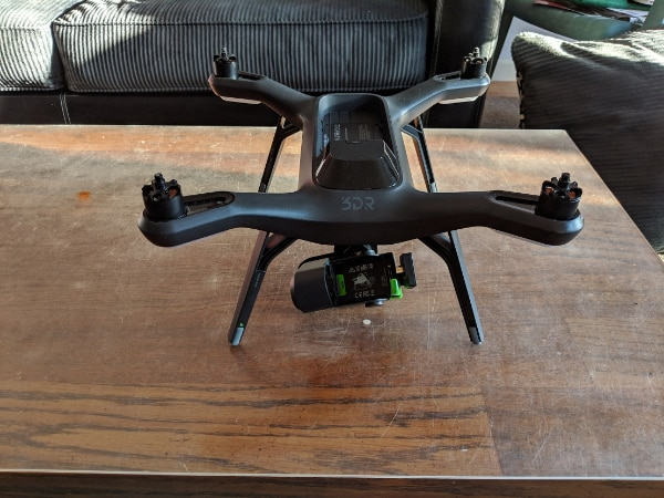 3DR Solo GoPro Drone Bundle with Gimbal, Backpack, Battery
