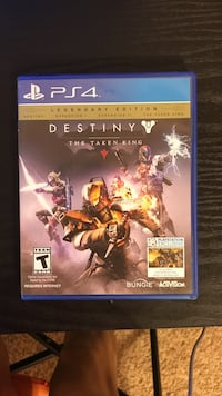 Sony PS4 Destiny game case