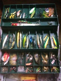 * fishing lures and flies galore* Denver, 80236