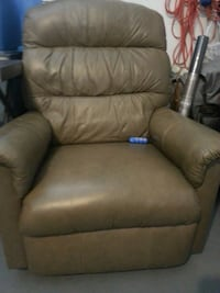 brown leather recliner sofa chair Venice, 34293