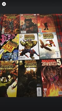 Marvel zombies comic Montréal, H3W 2E7