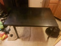Convertible kitchen table