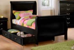 Twin bed with trundle/storage 4 colors available FREE LOCAL DELIVERY