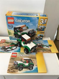 Lego Creator 3-in-1 Adventure Vehicles #31037  Markham