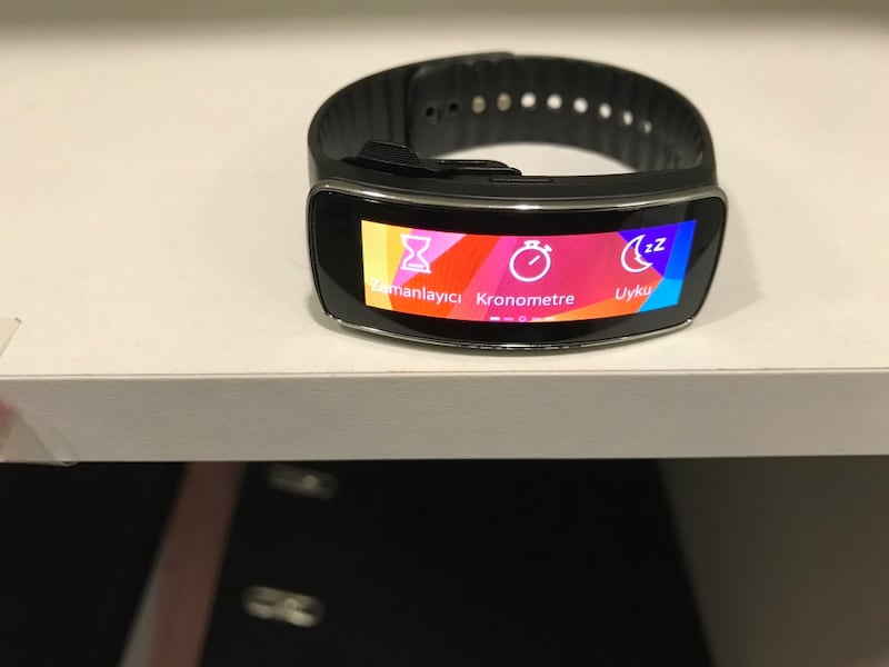 SAMSUNG GEAR FİT SM R350 5