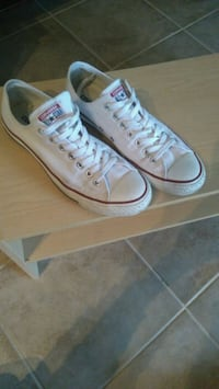pair of white Converse All Star low-top sneakers Mississauga, L5K 1K1
