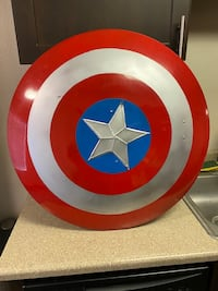Metal Captain America Shield  Vancouver, 98661