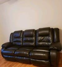 Brown AshleyLeather recliner couch Cleveland, 37312