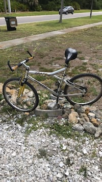 black and gray hardtail mountain bike North Port, 34287