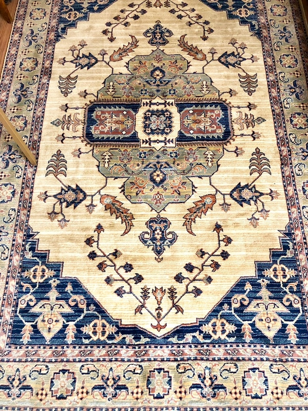 Used Beautiful Area Rug 5x8 For In