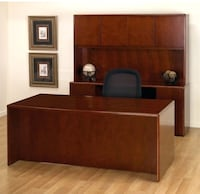 Desk and wall unit for sale used 3 years  Delivery could be arranged.
