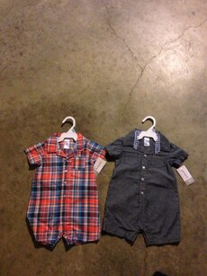 2 6 month old outfits
