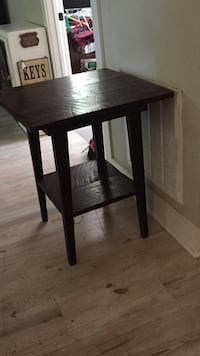 brown wooden 2-layered table. PRIMITIVE/RUSTIC Walterboro, 29488