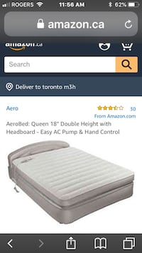 EUC Aerobed Queen size  Whitby, L1N