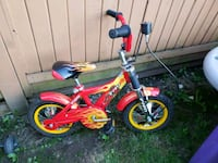 toddler's red and white bicycle Surrey, V3W 6T8