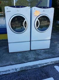 white General Electric washer and dryer set Gainesville, 32601