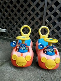 Mickey Mouse ride on cars for toddlers.