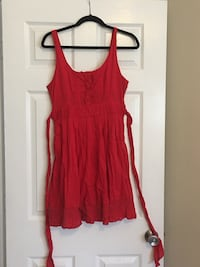 Red country style dress  Jacksonville, 28540