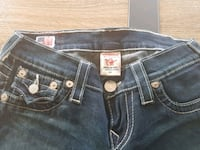 black True Religion denim bottoms Mississauga