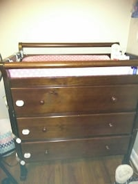 3-layered dresser with brown wooden frame McDonough, 30252