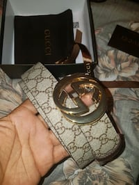 Gucci belt . size 34 and 38