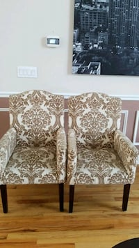set of 2 floral chairs  Middlebury, 06762