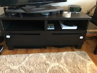 black wooden TV stand with mount Avon, 06001