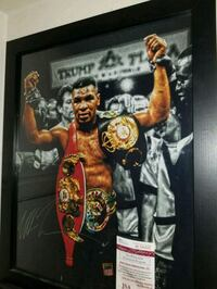 Mike Tyson signed & authenticated 16x20 photo  Toronto, M1L 2T3