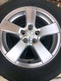 Chevy Cruze 2013 tires and rim's
