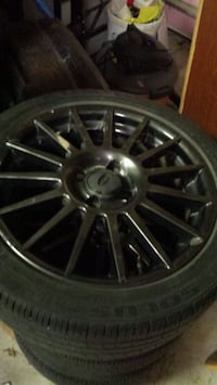 Kumo tires and rims 215 45 r17  Baden, N3A 4S2