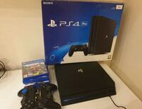 PlayStation 4pro five games and two controllers Jacksonville