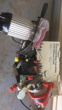Electric chain saw sharpener. Barely used Lubbock, 79416