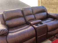 Leather sofa and recliner set Glendale, 85306