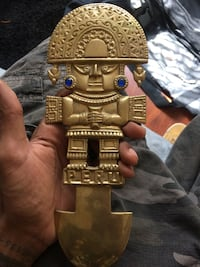 Brass Peruvian wall ornament  Houston, 77060