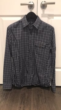 J.Crew - Mens (m) brushed twill - chequered shirt Oakville, L6H 1R5