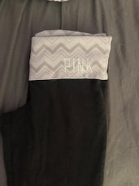 black and gray Pink by Victoria's Secret pants Port Coquitlam, V3B 7G3