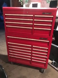 U.S general tool chest with lots of tools