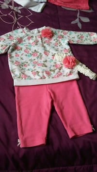 toddler's pink and white floral dress Merced, 95341