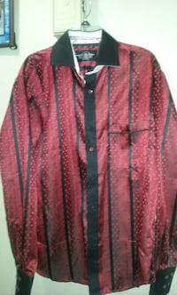 black and red striped dotted sports shirt Ontario, 91764