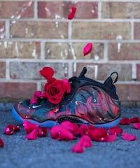 9.5 rose x foamposites