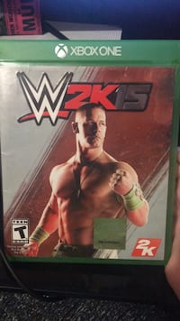 Xbox One WWE 2K18 case Saint Clair Shores, 48082