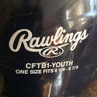 Rawlings beginner baseball tee ball helmet Brookeville